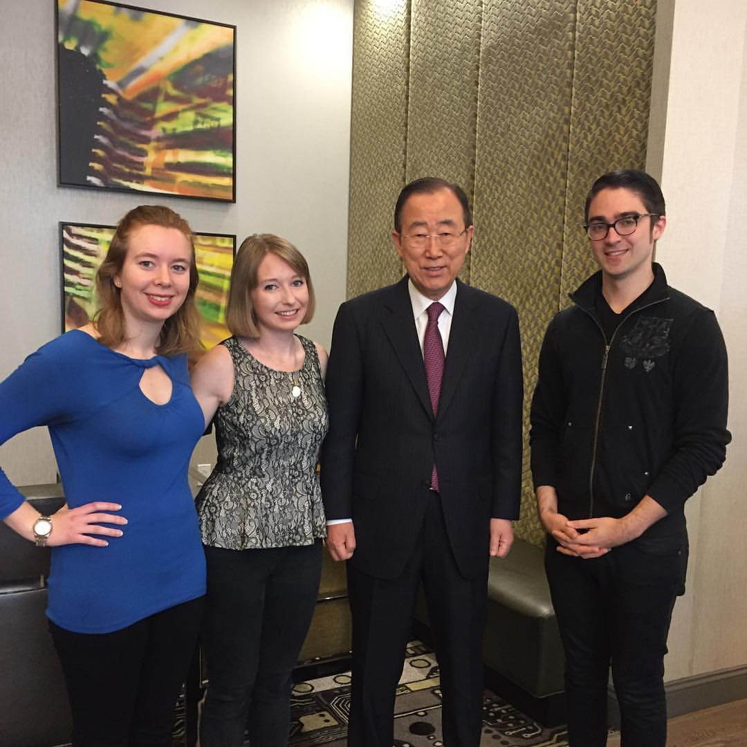 Andrew, US Trek, Ban Ki Moon