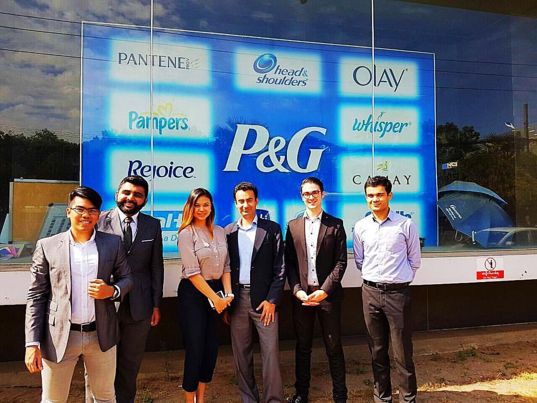 Andrew, AL on-site, P&G